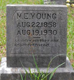 Margaret Elvira <I>Hicks</I> Young