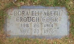 Dora Elizabeth <I>Crouch</I> Cook