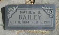 Mathew Urie Bailey