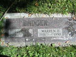 Lois Arline <I>Morgan</I> Badger