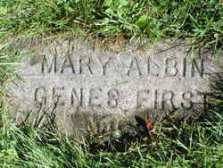Mary Gertrude <I>Lehman</I> Albin