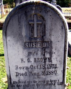 Susie <I>Dowdell</I> Brown