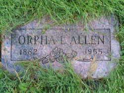 Orpha Lovicy <I>Hollaway</I> Allen