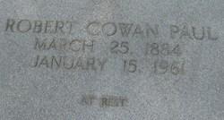 Robert Cowen Paul