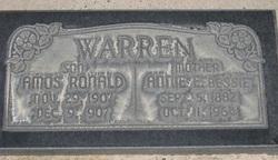 Amos Ronald Warren