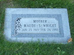Maude S Wright