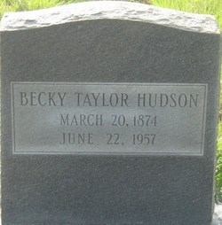 Sarah Rebecca <I>Taylor</I> Hudson