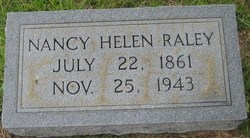 Nancy Helen <I>Thomasson</I> Raley
