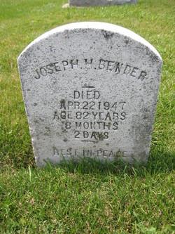 Joseph H Bender