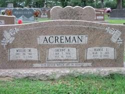 Willie Monroe Acreman, Sr