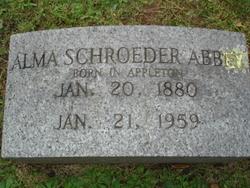 Alma <I>Schroeder</I> Abbey