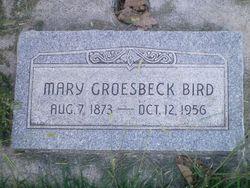 """Mary """"Molly"""" <I>Groesbeck</I> Bird"""
