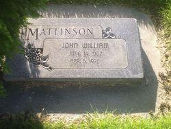 John William Mattinson