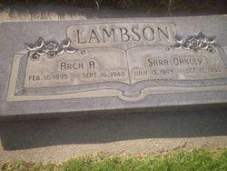 Archibald Arba Lambson