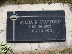 Wilda K Stafford