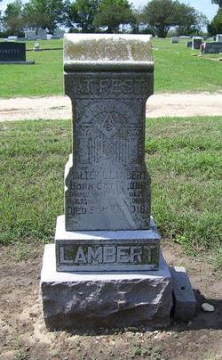 Walter Leonard Lambert