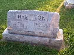 """Mary Frances """"Midge"""" <I>Isgrigg</I> Hamilton"""