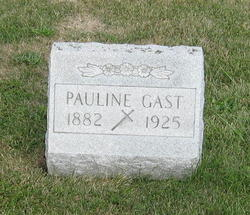 Pauline <I>Sauer</I> Gast