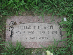 Lillian Ruth <I>Risley</I> Whitt