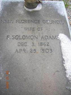 Nell Florence <I>Council</I> Adams