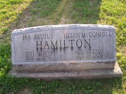 Helen <I>McConnell</I> Hamilton