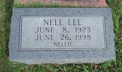 "Nell Rita ""Nellie"" <I>Rigsby</I> Lee"