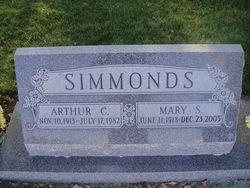 Mary S. <I>Sorensen</I> Simmonds