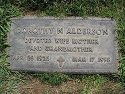 Dorothy Nan <I>Franklin</I> Alderson