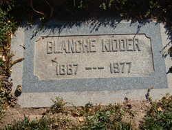 Blanche Kidder
