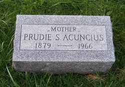 """Pruella M. """"Prudie"""" <I>Scott</I> Acuncius"""