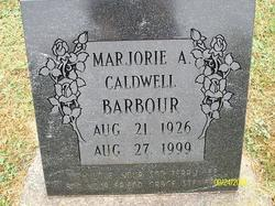 Marjorie A <I>Caldwell</I> Barbour