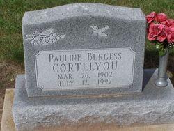 Pauline <I>Burgess</I> Cortelyou