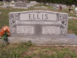 Patsy Jean <I>Williams</I> Ellis
