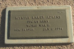 Myrtle Lakey Adkins