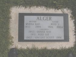 Myrna Kay <I>Davis</I> Alger