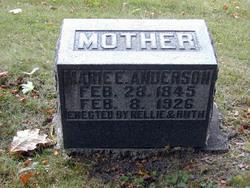 """Elisabeth Marie """"Mary"""" <I>Olsdatter Olsen</I> Anderson"""