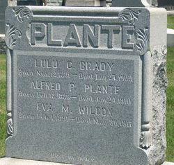 Lula Helene <I>Plante</I> Brady