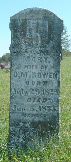 Mary E. <I>Cummings</I> Bowen