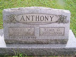 Elsie G. <I>Adams</I> Anthony