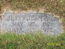 Betty Jean Ball