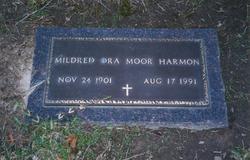 Mildred Ora <I>Moor</I> Harmon