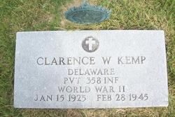 Pvt Clarence Wesley Kemp