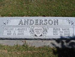 """Floyd W. """"Wayne"""" <I>Wayne</I> Anderson"""