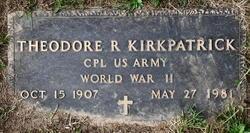 Theodore R Kirkpatrick