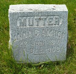 Anna B. Amhof