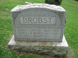 Ida Louisa <I>Dotter</I> Brobst