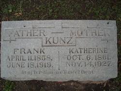 "Catharina ""Katherine"" <I>Pinn</I> Kunz"