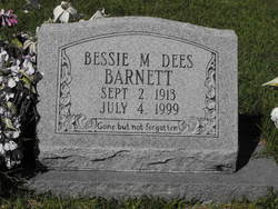 Bessie M. <I>Robinson</I> Dees-Barnett