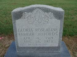 Gloria Rosealine <I>Farrar</I> Jeffords