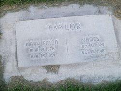Mary <I>Eaton</I> Taylor